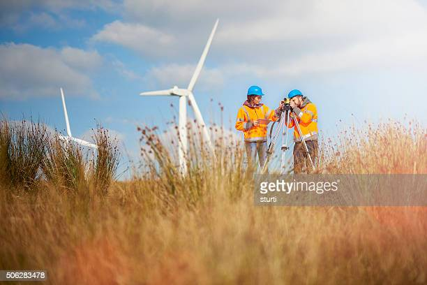 wind power farm engineers