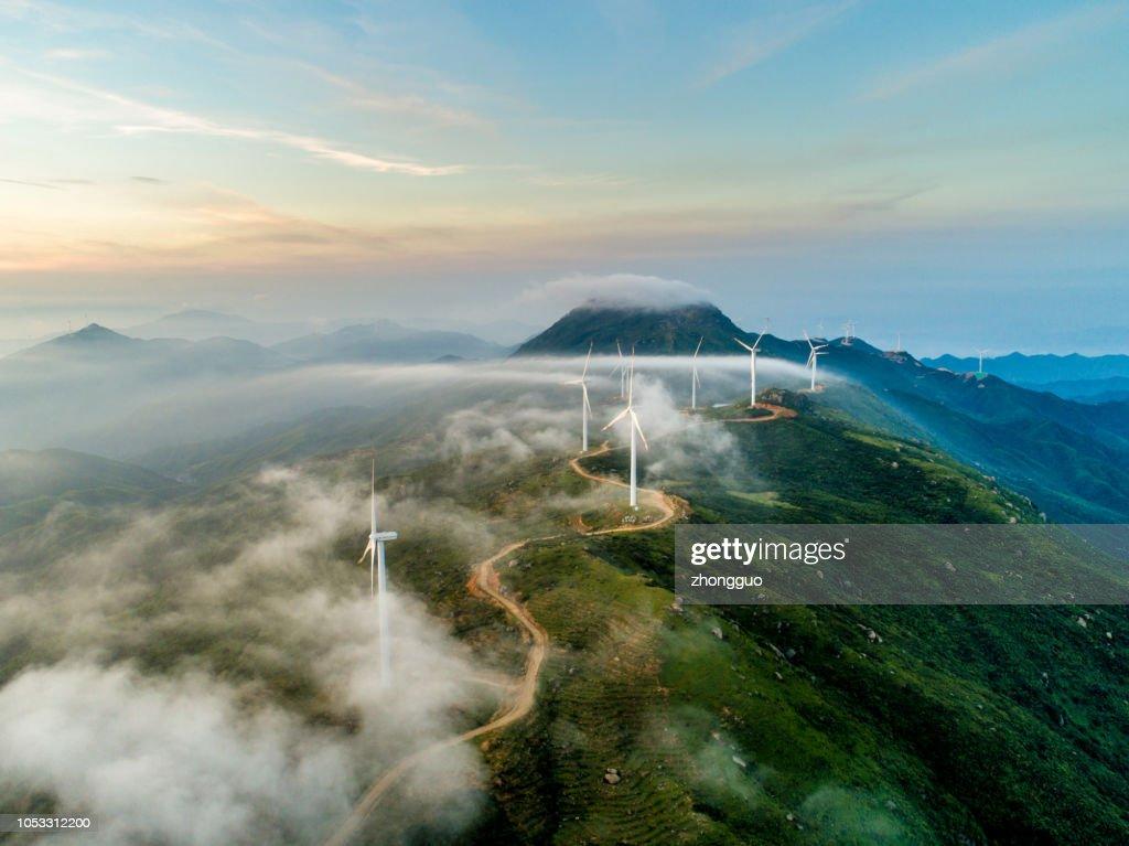 Wind power generation : Stock Photo