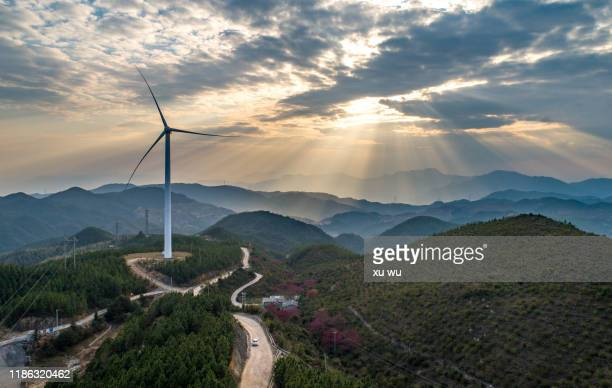 wind power - climate stock pictures, royalty-free photos & images