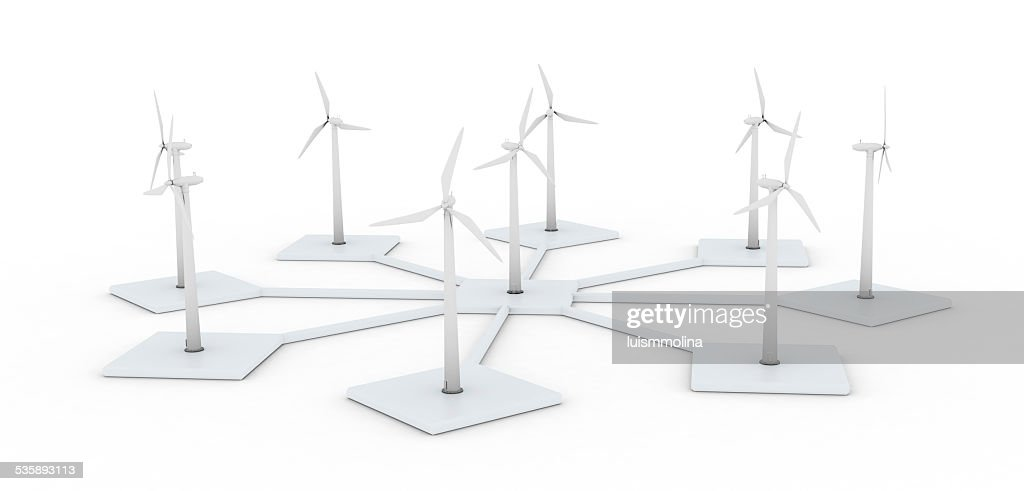 Wind Power : Stock Photo