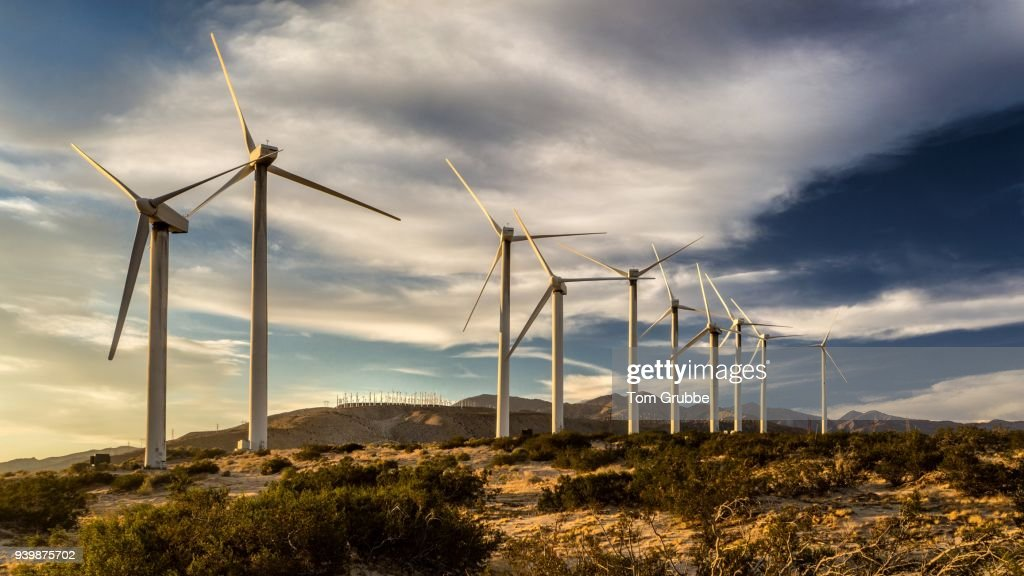Wind Powered : Stock Photo