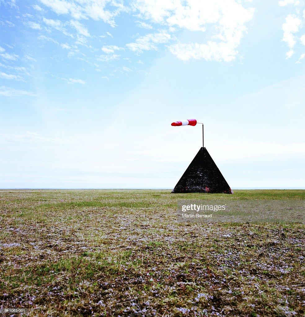 Wind sock in field : Photo