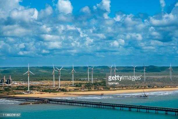estação de vento em aracaju - brasil sergipe aracaju - fotografias e filmes do acervo