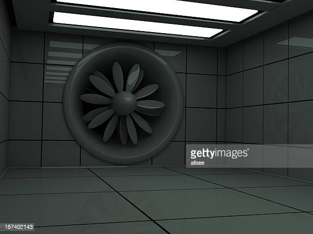 wind (aerodynamical) tunnel - wind tunnel testing stock photos and pictures