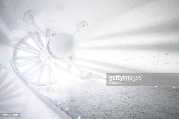 Wind Tunnel without Aerogeneric Car