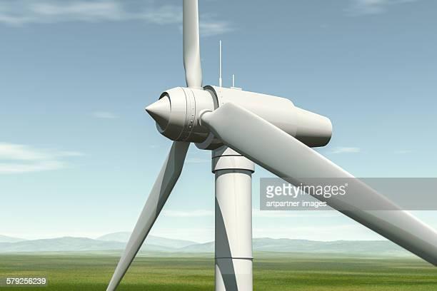 wind turbine alternative energy - 風力発電 ストックフォトと画像