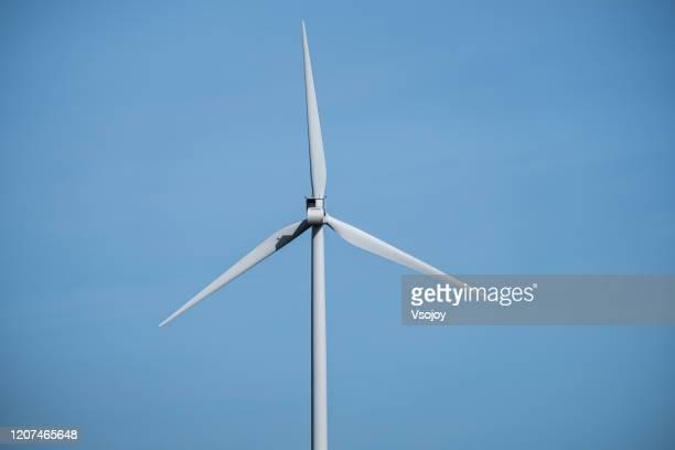 wind turbine, copenhagen, denmark - vsojoy stock pictures, royalty-free photos & images