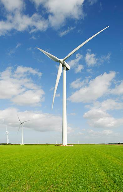 Wind Turbine In Rural Landscape Wall Art