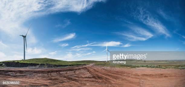 Wind Turbine on Hulunbuir Grasslands