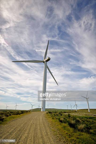 CONTENT] Wind turbine on Scout Moor near Edenfield in northwest England The wind farm consists of 26 turbines high on the moors and is the largest...
