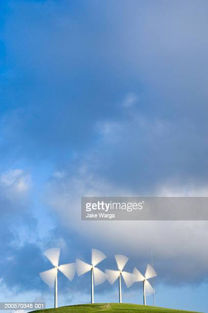 wind turbines, california, usa - jake warga stock pictures, royalty-free photos & images
