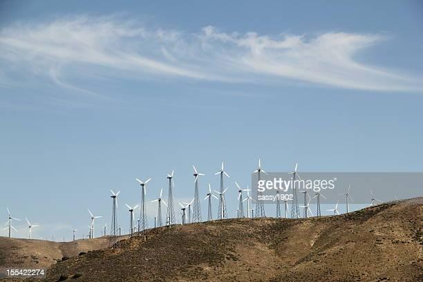 Wind Turbines Energy Altamont Pass
