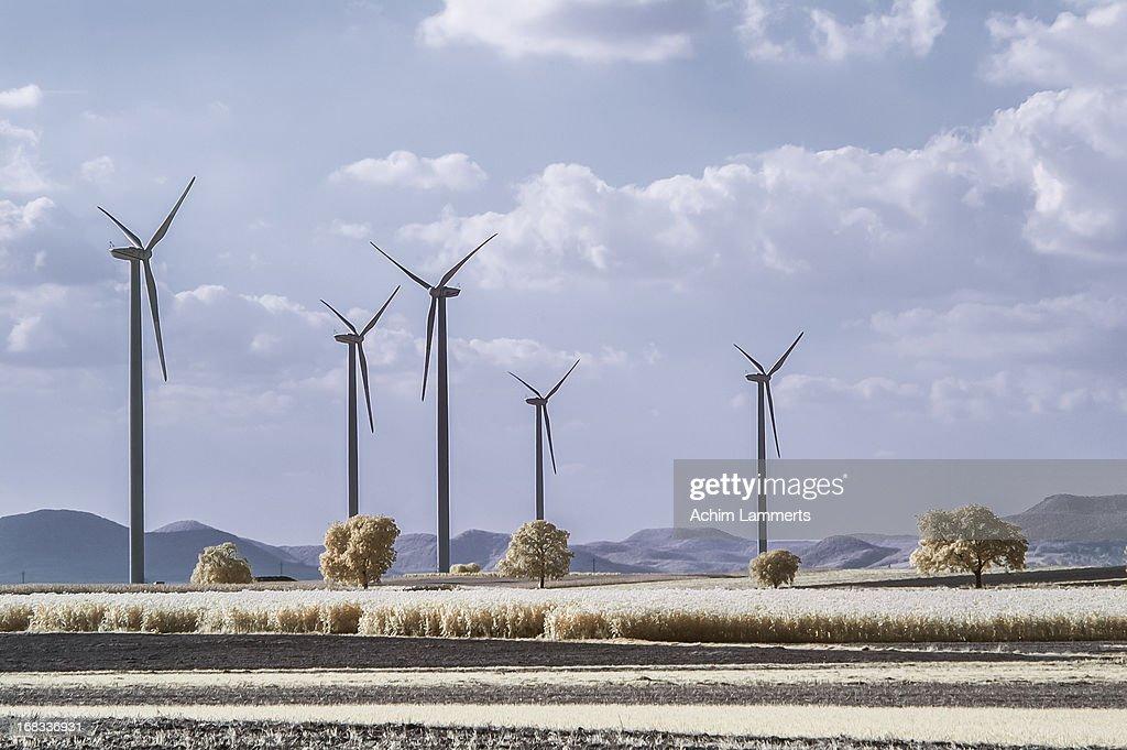 wind turbines generators : Stock-Foto