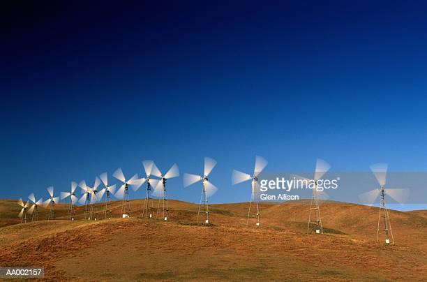 Wind Turbines in Altamont, California