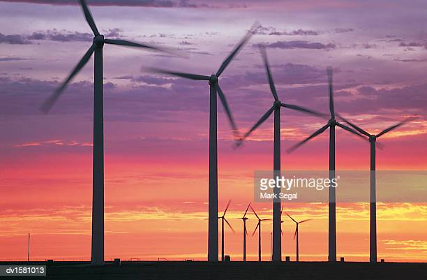 Wind Turbines in Amarillo, Texas