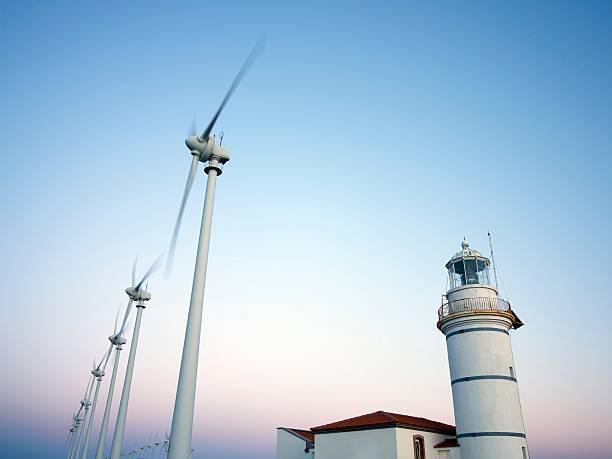 Wind Turbines Wall Art