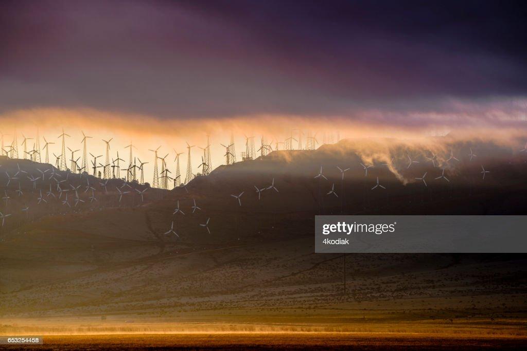 Vindkraftverk : Bildbanksbilder