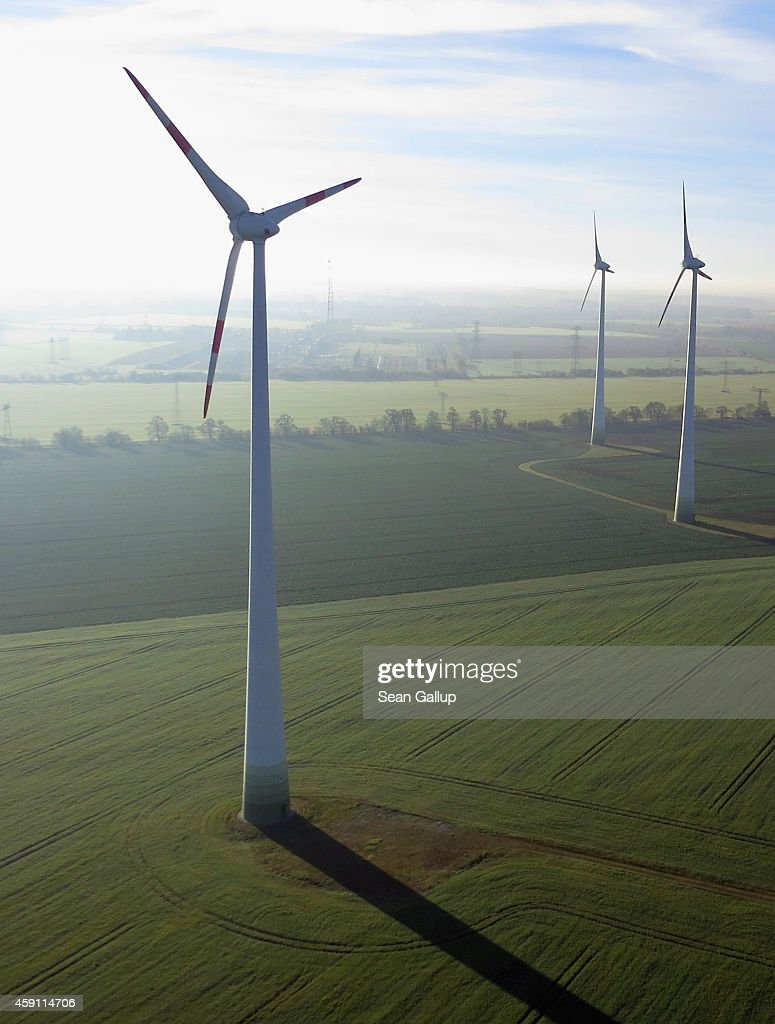 Germany Seeks Ambitious Goals For Renewable Energy : News Photo