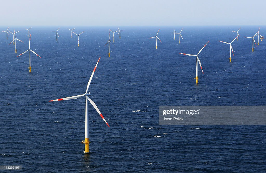 EnBW To Launch Offshore Windpark In Baltic Sea : News Photo