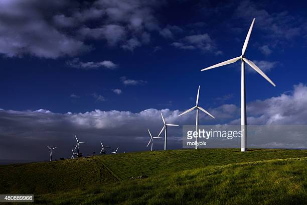 Wind Turbines Starfish Hill Fleurieu Peninsula South Australia