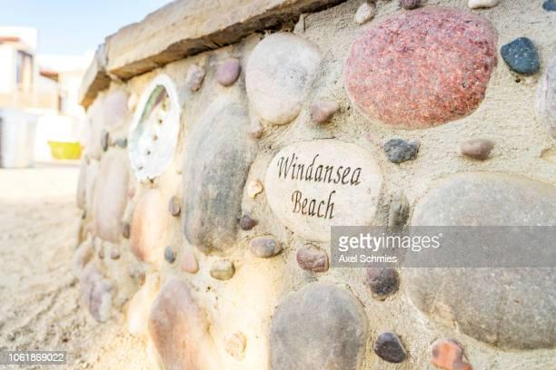Windansea Sign La Jolla Beach San Diego