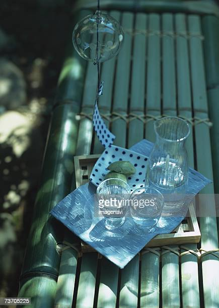 Wind-chime and refreshment