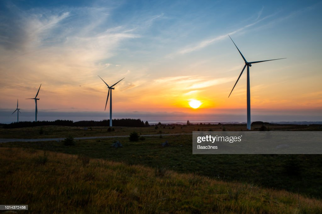 Windfarm in Norway : Photo