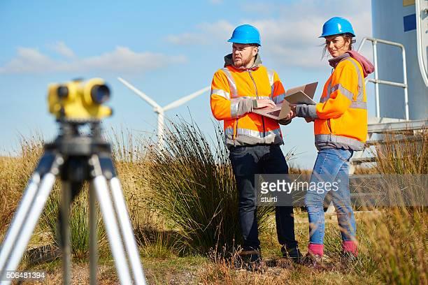 windfarm Überwachung.