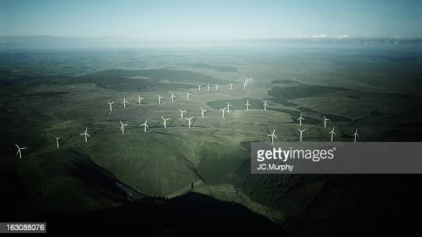 windfarm - american style windmill stock pictures, royalty-free photos & images