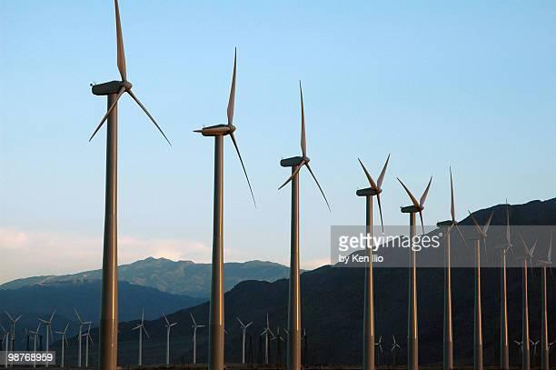 windfarm - ken ilio stock pictures, royalty-free photos & images