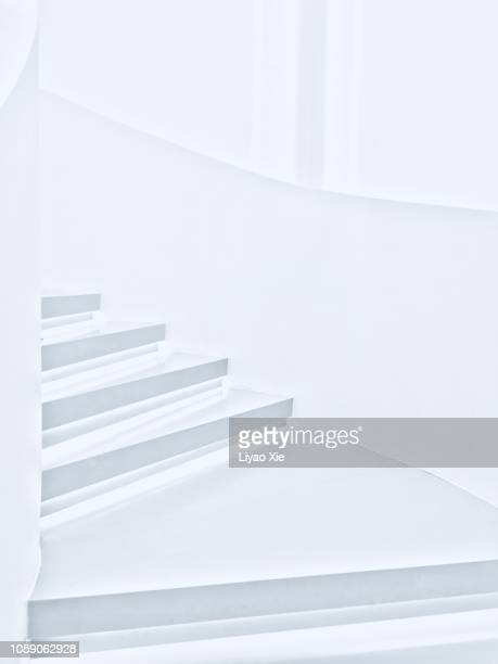 winding staircase - liyao xie stock pictures, royalty-free photos & images