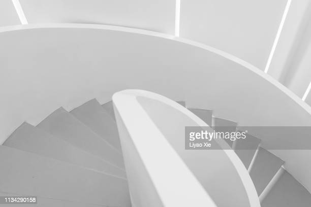 winding stairs - artistic product stock pictures, royalty-free photos & images
