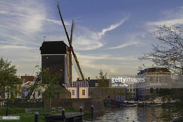 Windmill and canal.