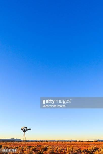 Windmill. Arid Flinders Ranges. South Australia