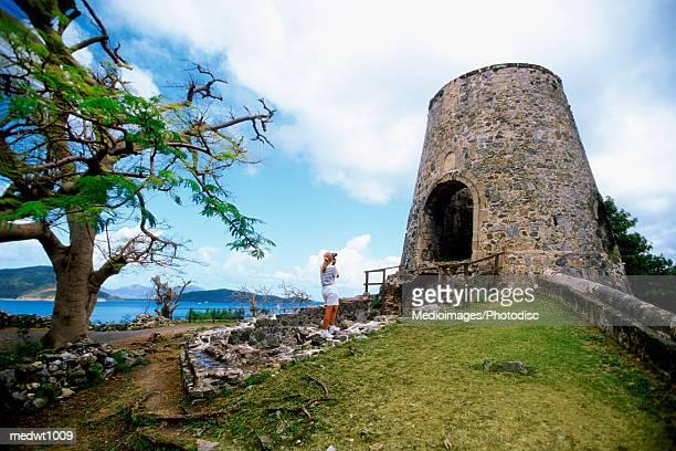 Windmill at Annaberg Sugar Plantation, St. John, US Virgin Islands