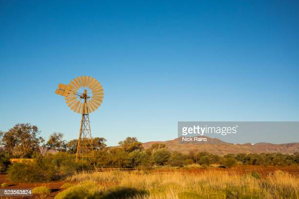 Windmill at Karijini National Park, Ranger Station
