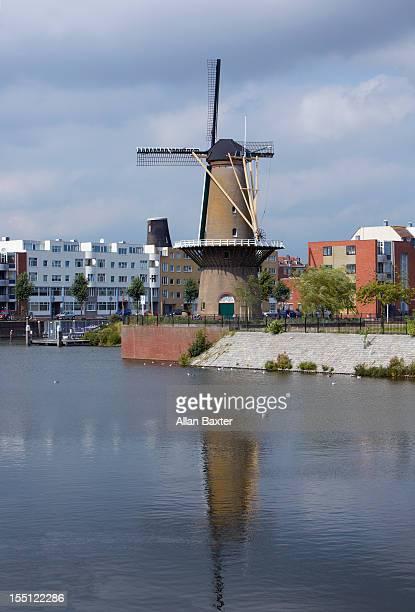 Windmill at Rotterdam Old Port