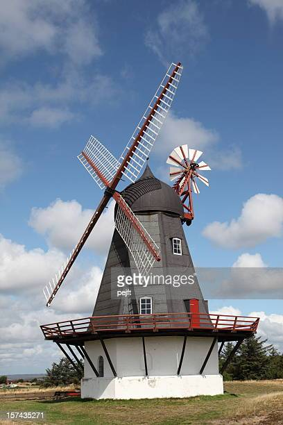 windmill dating from the 19th century - pejft stock pictures, royalty-free photos & images