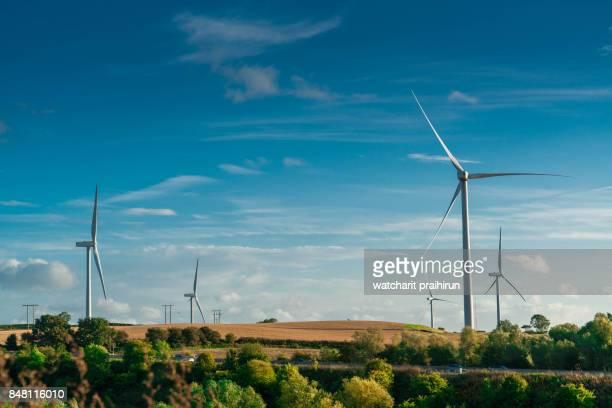 windmill , Harthill, Sheffield, UK.
