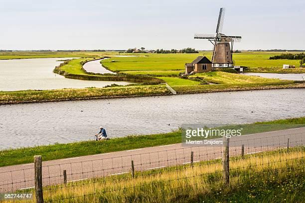 Windmill 'Het Noorden' along Stuifweg