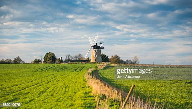 windmill in great haseley in oxfordshire - oxfordshire stock pictures, royalty-free photos & images