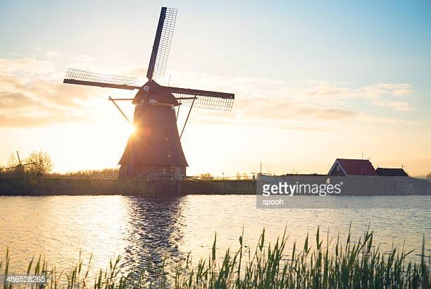 Windmill in Netherlands