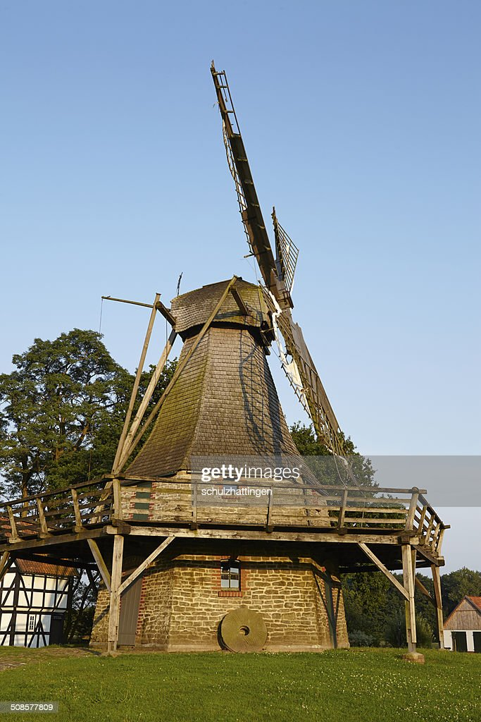 Windmill Levern (Stemwede, Germany) : Stock Photo