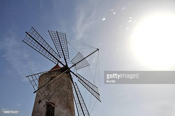 Windmill of salt museum