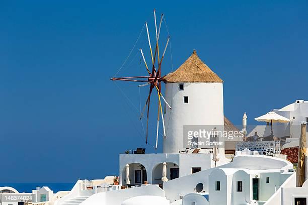 Windmill on a hill, Oia, Santorini