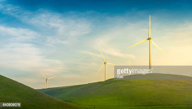 Windmill on Green Hills