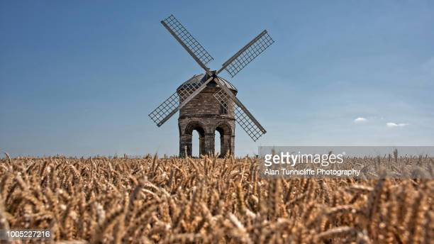 windmill - chesterton stock photos and pictures