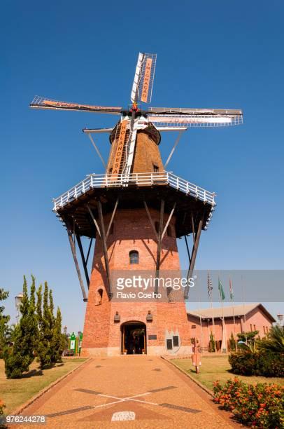 """Windmill """"Povos Unidos"""" in Holambra, Brazil"""