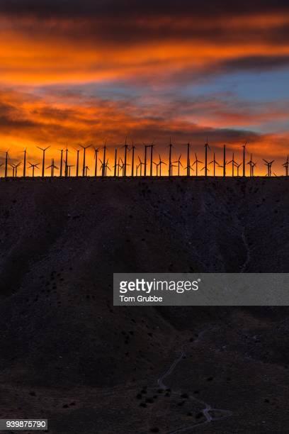 Windmill Sunset 2 v2 Vertical