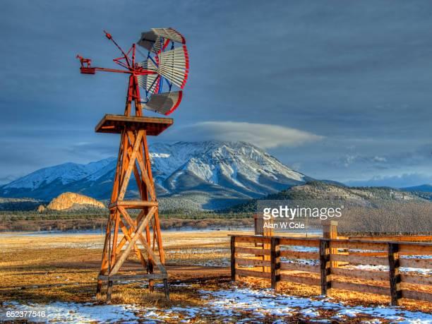 Windmill, West Spanish Peak, Cuchara, Colorado
